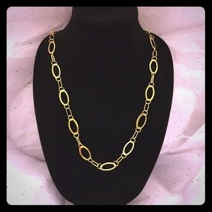 """Gold Rings Basic 17"""" Chain Necklace"""